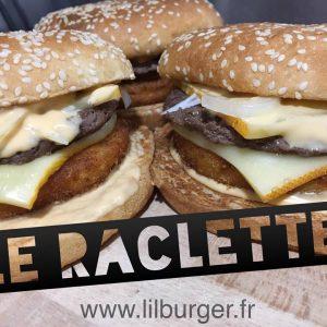 """Le Burger du Mois : """"Le Raclette"""" Livraison de nuit à Orléans"""